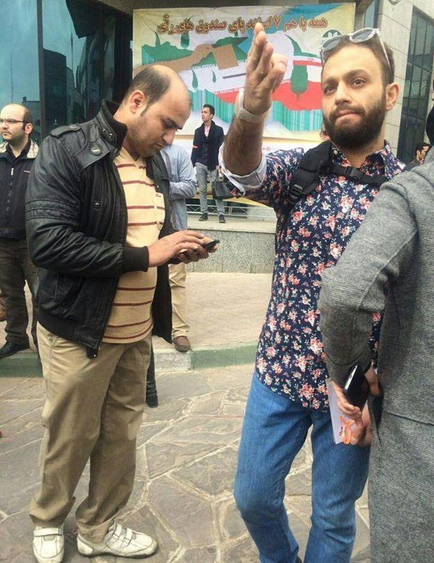 1459600831 تجمع بازیگران در روز سیزده بدر و بازداشت هدیه تهرانی
