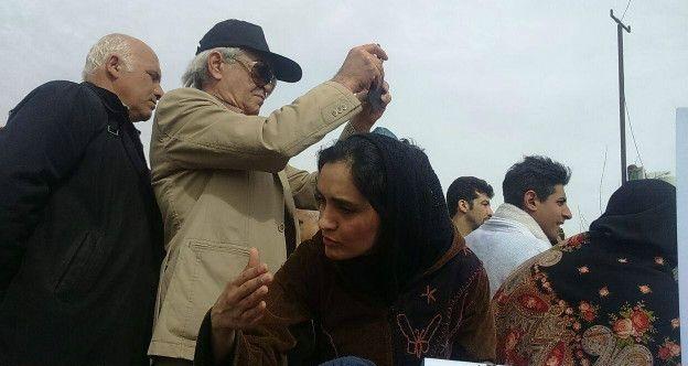 1459608376 تجمع بازیگران در روز سیزده بدر و بازداشت هدیه تهرانی