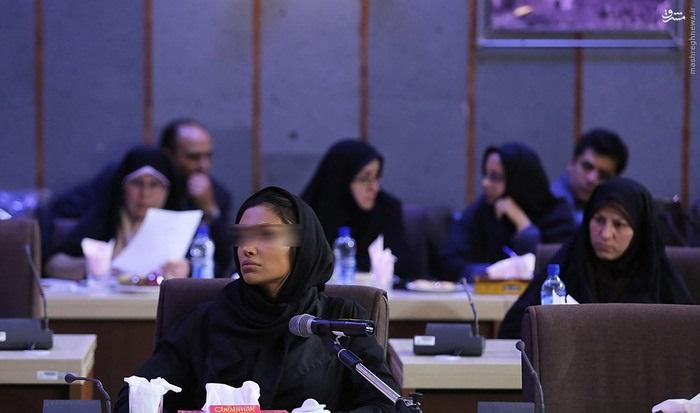 1463400879 اعتراف مُدل زن معروف ایرانی مقابل دادستان تهران ؛ عکس
