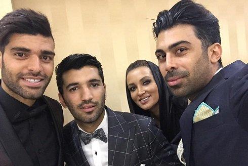 1463683716 عکس روناک یونسی و همسرش در عروسی محسن مسلمان