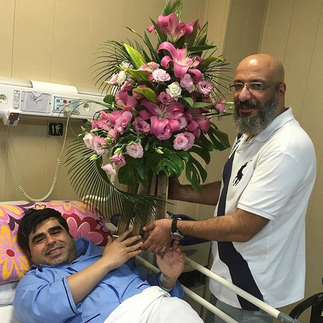 1463747275 عکس: عیادت بازیگران از امیر نوری در بیمارستان
