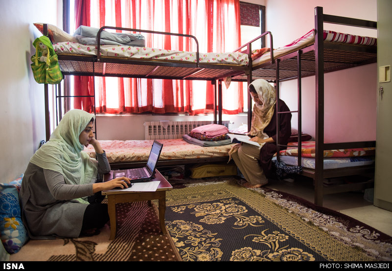 1463910852 گزارش تصویری خوابگاه دختران و پزشکان آینده