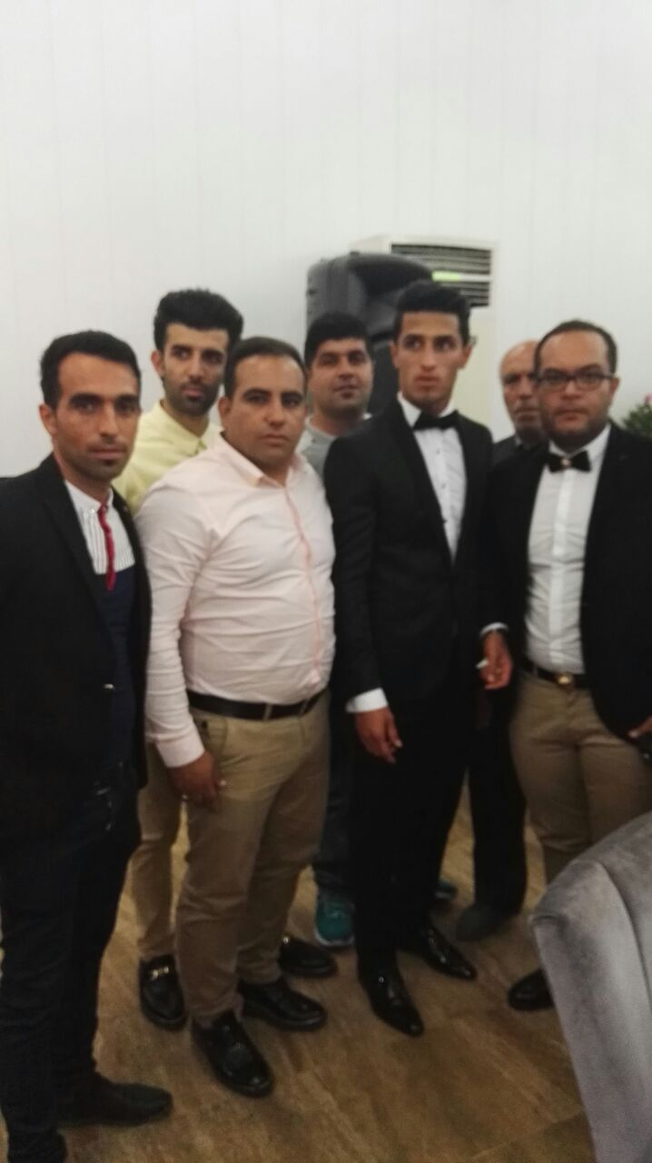 1464196870 عکس های بازیکنان پرسپولیس در مراسم عروسی علی علیپور
