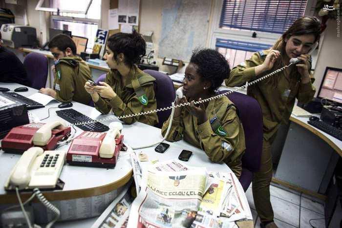 1464227805 عکس های زنان ارتش اسرائیل