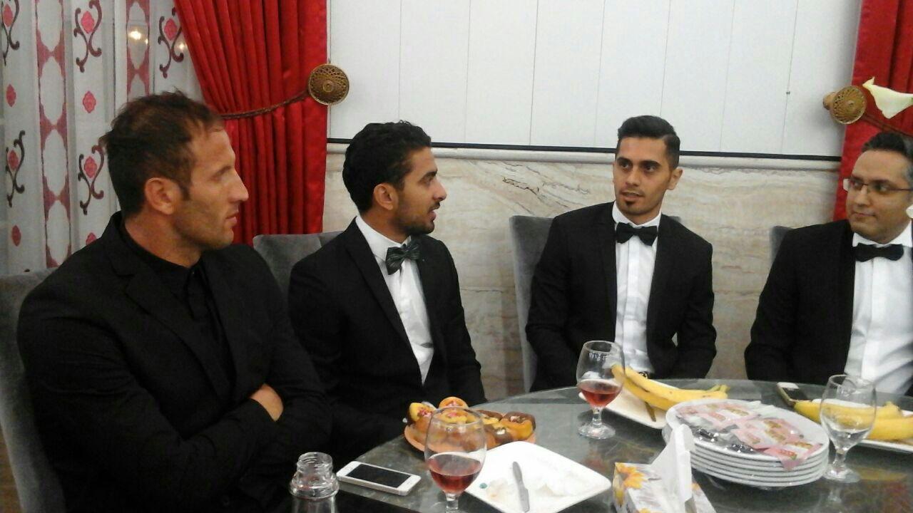 1464233881 عکس های بازیکنان پرسپولیس در مراسم عروسی علی علیپور