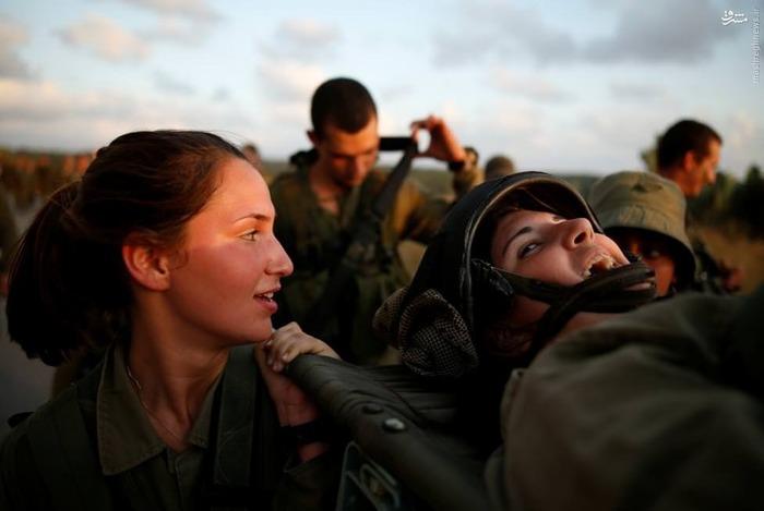 1464291130 عکس های زنان ارتش اسرائیل