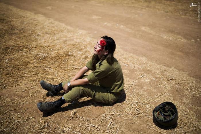 1464296843 عکس های زنان ارتش اسرائیل