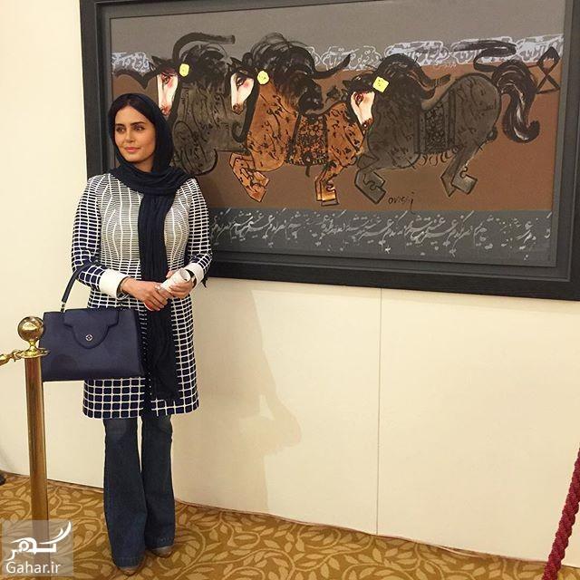 1464477649 عکسهای الناز شاکردوست در پنجمین حراج تهران