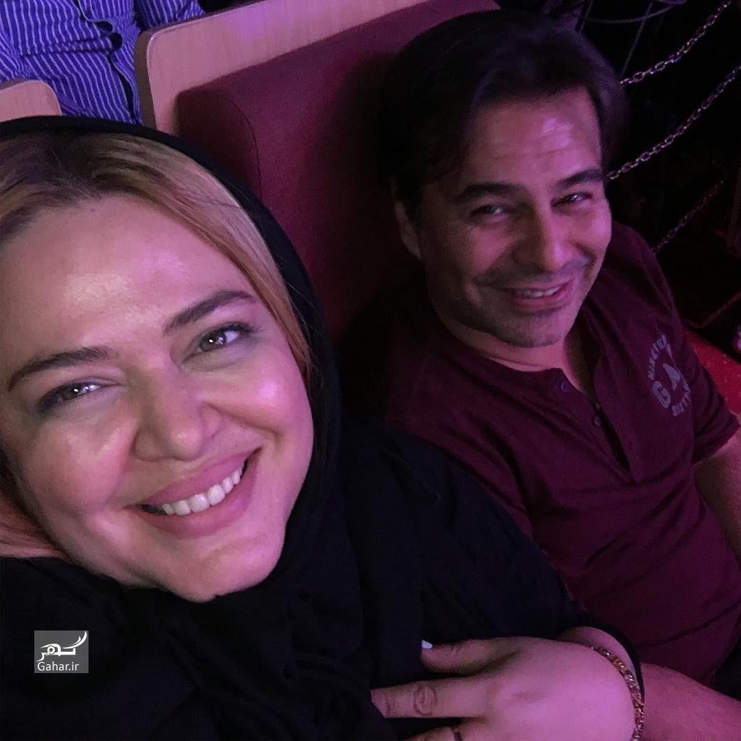 1464659601 عکس بهاره رهنما و همسرش در کنسرت دخترشان پریا