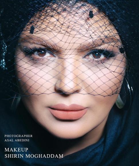 1465255506 یکی از بازیگران زن ایران مدل آرایشی شد + عکس