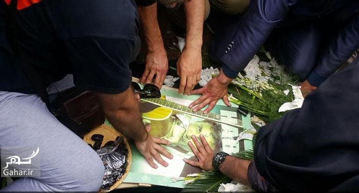 1465655718 گزارش و عکسهای مراسم تشییع حبیب محبیان