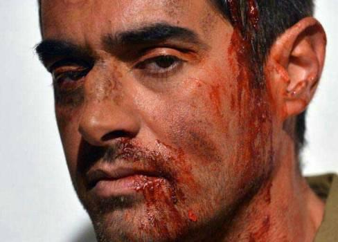 1466050260 عکس: گریم دیدنی شهاب حسینی برای سرزمین کهن