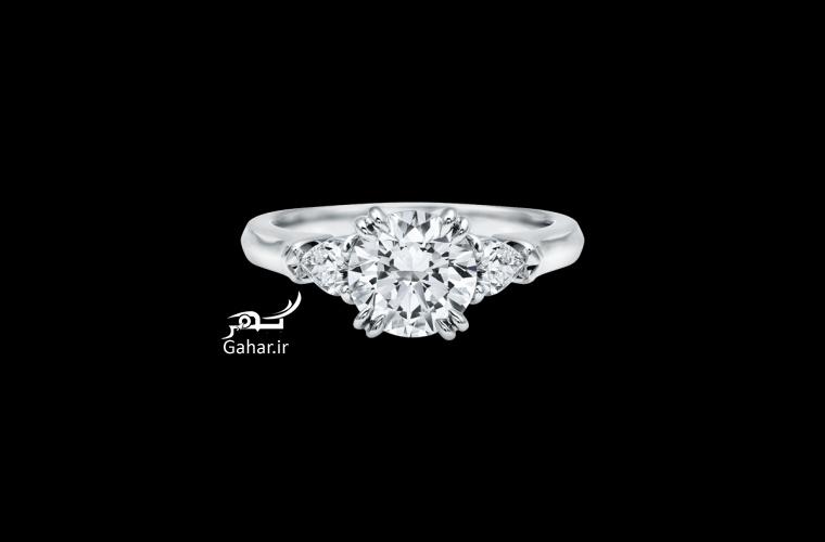 1466062223 مدل حلقه نامزدی فوق العاده شیک برند harrywinston