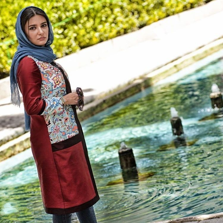 1466428656 عکس های جدید لیندا کیانی مدلینگ مانتو ایرانی