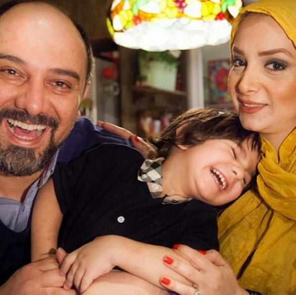 1466606710 عکس: بازیگران و همسرانشان و فرزندانشان در اینستاگرام