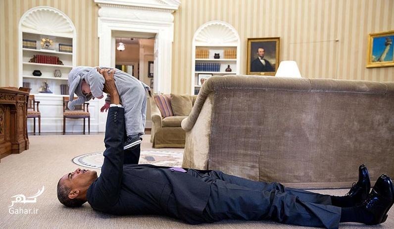 1466612973 عکس های دیدنی از بازیگوشی اوباما