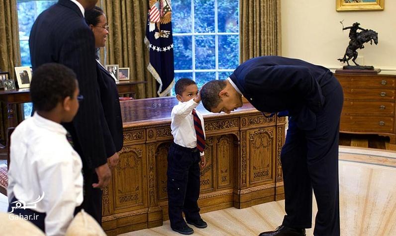 1466613083 عکس های دیدنی از بازیگوشی اوباما