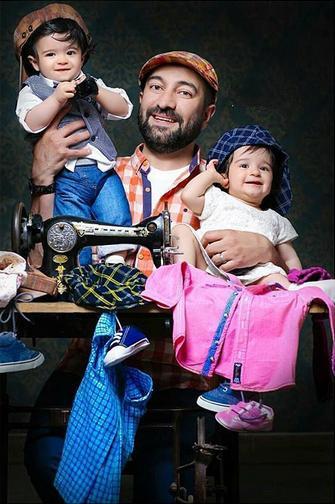 1466637398 عکس: بازیگران و همسرانشان و فرزندانشان در اینستاگرام