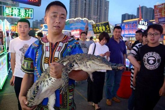 1466744876 کباب تمساح غذای پرطرفدار چینی ها + عکس