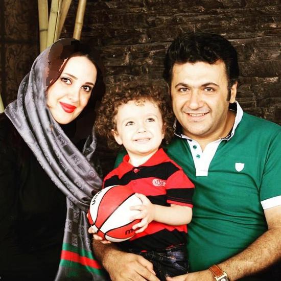 1468513499 عکس های شهرام عبدلی و همسرش و پسرش + بیوگرافی