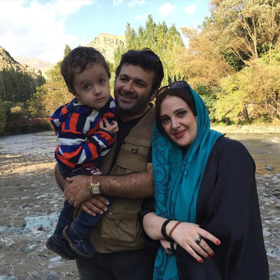1468516509 عکس های شهرام عبدلی و همسرش و پسرش + بیوگرافی