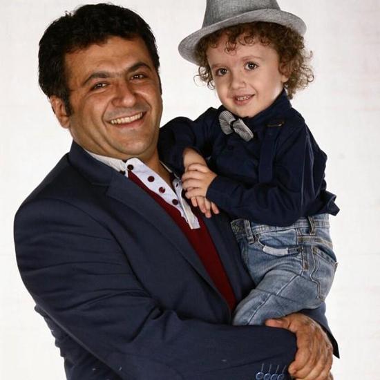 1468533607 عکس های شهرام عبدلی و همسرش و پسرش + بیوگرافی