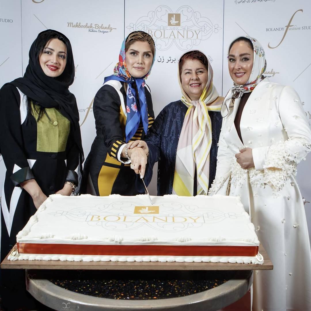 1469081642 عکس های شیلا خداد و الهام حمیدی در آتلیه طراحی مد