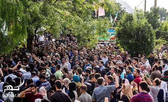 1469082543 عکس های مراسم چهلم حبیب محبیان با حضور مردم و بازیگران
