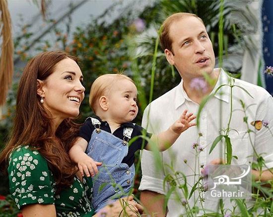 1469285804 عکس های تولد شاهزاده جرج کمبریج و سه ساله شدنش