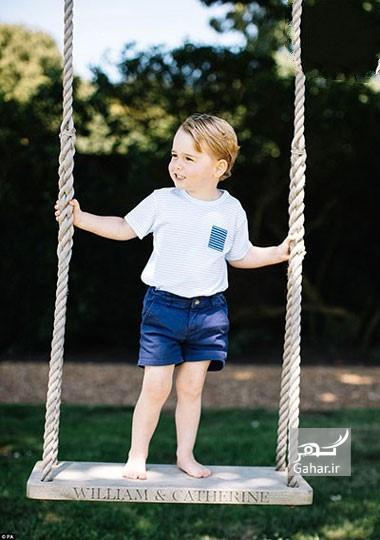 1469349388 عکس های تولد شاهزاده جرج کمبریج و سه ساله شدنش