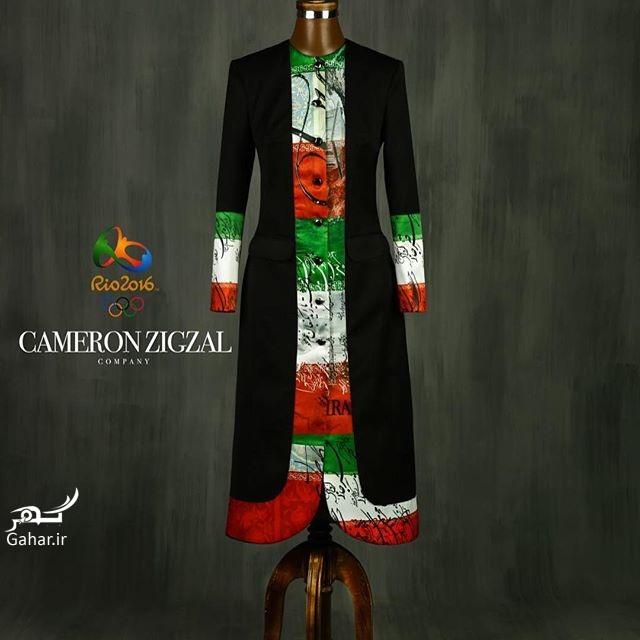 1469512473 طرح پیشنهادی و جدید لباس المیپک ایران توسط کامران بختیاری