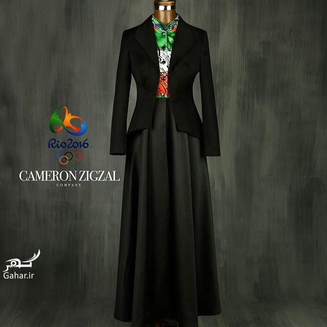 1469557740 طرح پیشنهادی و جدید لباس المیپک ایران توسط کامران بختیاری