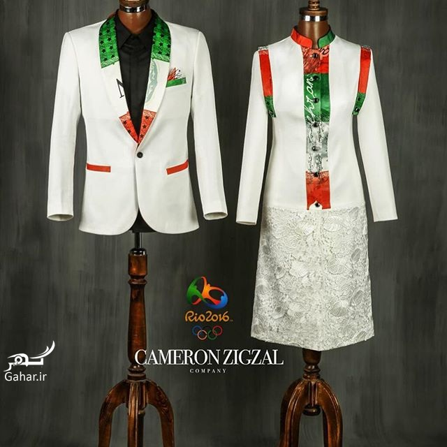 1469580730 طرح پیشنهادی و جدید لباس المیپک ایران توسط کامران بختیاری
