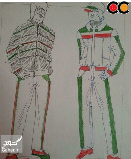 1469581554 عکس: طرح های پیشنهادی طراحان لباس برای لباس کاروان المپیک