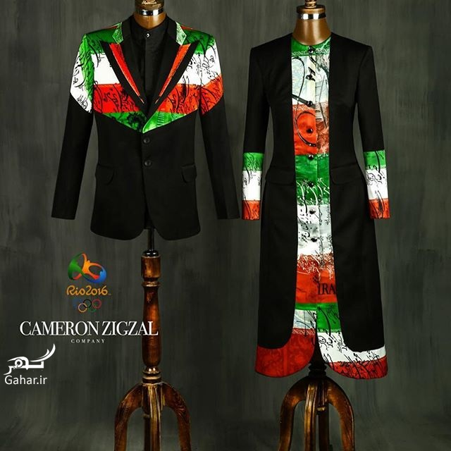 1469591917 طرح پیشنهادی و جدید لباس المیپک ایران توسط کامران بختیاری