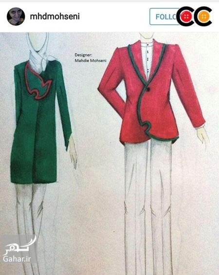 1469600969 عکس: طرح های پیشنهادی طراحان لباس برای لباس کاروان المپیک