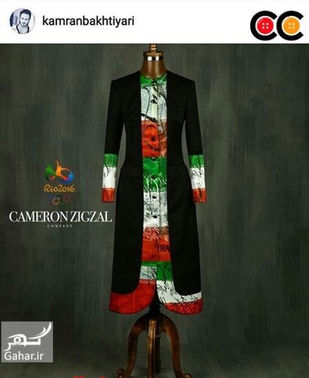 1469606051 عکس: طرح های پیشنهادی طراحان لباس برای لباس کاروان المپیک