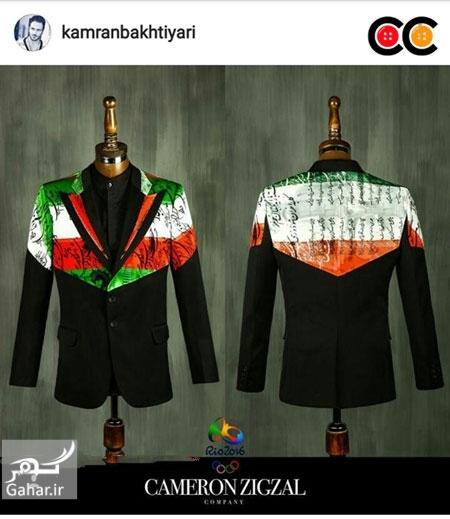 1469629694 عکس: طرح های پیشنهادی طراحان لباس برای لباس کاروان المپیک