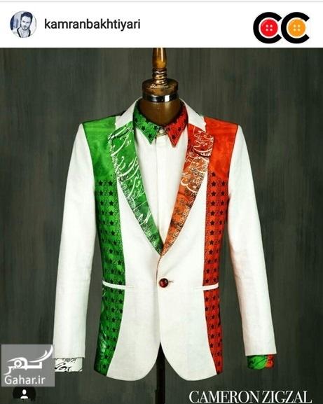 1469642202 عکس: طرح های پیشنهادی طراحان لباس برای لباس کاروان المپیک