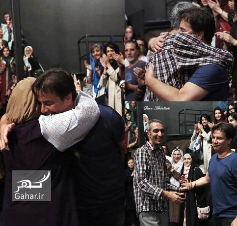 1469666567 عکس: حرکت عجیب پیمان قاسمخانی و همسرش در یک مراسم