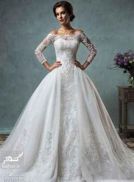1471548288 جدیدترین مدل لباس عروس اروپایی سال 2016