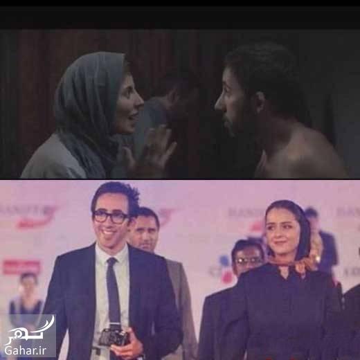 1472376154 علی منصور همسر ترانه علیدوستی بازیگر شد