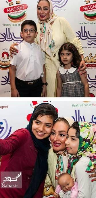 1473074971 جدیدترین عکسهای الهام حمیدی در افتتاحیه یک رستوران