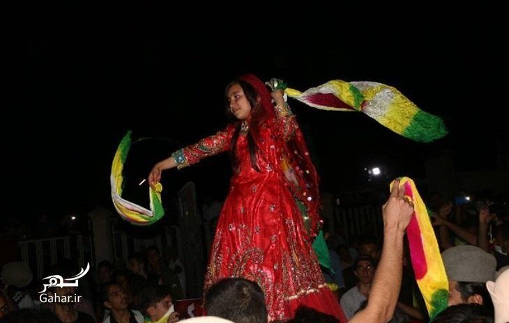 1475390336 عکس: رقص محلی دختر نوجوان بعد از برد تیم قشقایی در برابر پرسپولیس