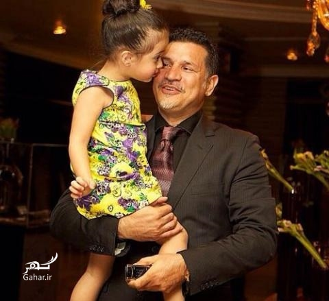 1475895227 عکس هایی از همسران و دختران علی دایی