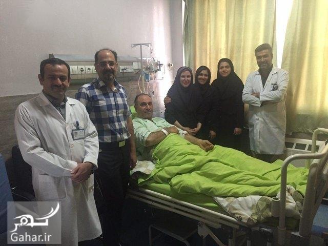 1476023909 جزییات خبر بستری شدن حمید فرخ نژاد در بیمارستان و عمل جراحی + عکس