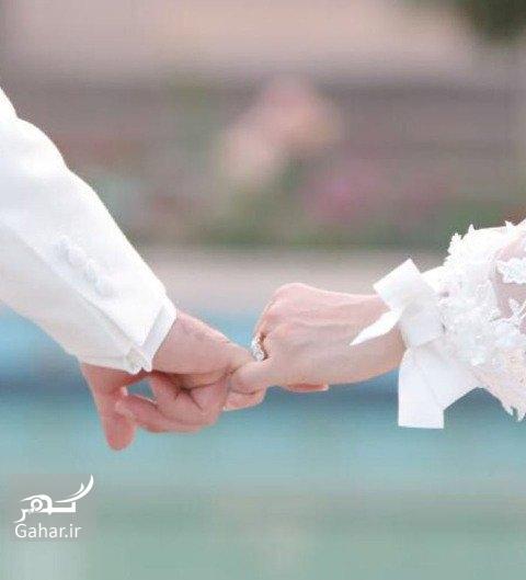 1476051134 عکس های مراسم عروسی ژیلا صادقی با لباس عروس