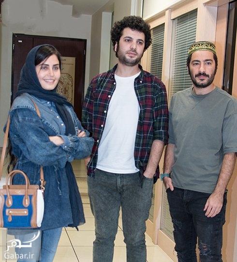 1476108441 عکس های نوید محمدزاده در اکران فیلم ابد و یک روز