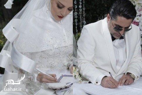 1476111871 عکس های مراسم عروسی ژیلا صادقی با لباس عروس