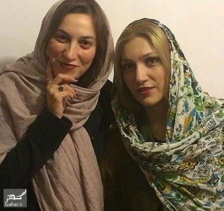 1476361816 عکس : شباهت جالب فلامک جنیدی و خواهرش